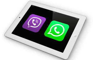 WhatsApp vs Viber on ipad